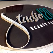 3d pvc paint and cut letters