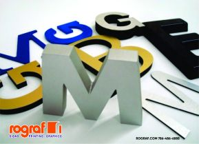 DIMENSIONAL LETTERS - LOGO TEL